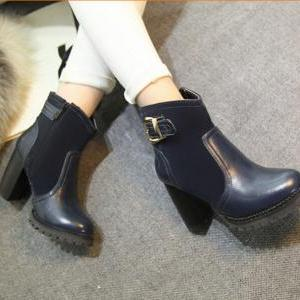 Winter 2015 new fashion boots round..