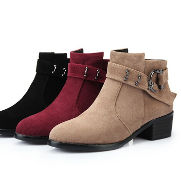 Women's new tip cashmere leather or..