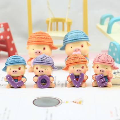 Resin handicraft lovers resin doll ..