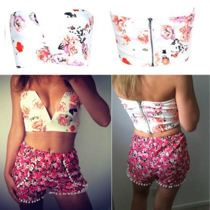 Sexy Ladies Womens Crop Top Bustier..