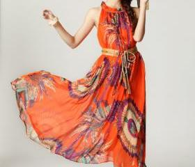 Summer Maxi Dress Fl..