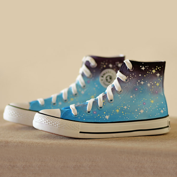 Galaxy Vans Shoes
