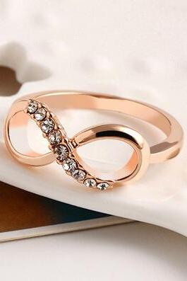 delicate Infinity ring