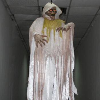 2014 new super Halloween Decoration prop 2.1 meters terrorist ghost tricky to scare people's Congress props