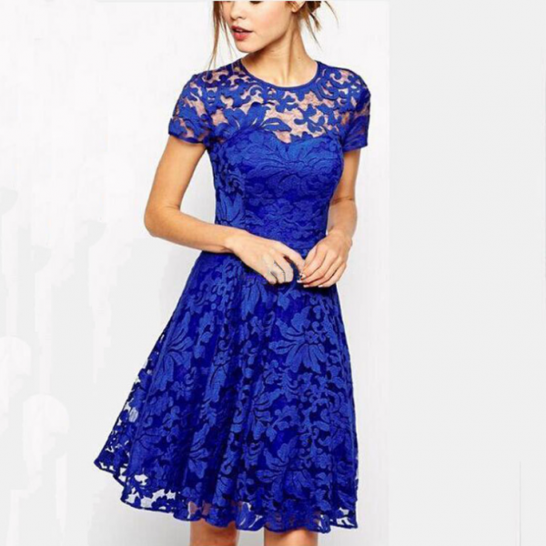 2015 fashion lace dress