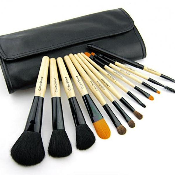 High Quality Makeup Brush Set Colorshine 12 Cosmetic Brush Set Professional Makeup Tools Makeup Tools